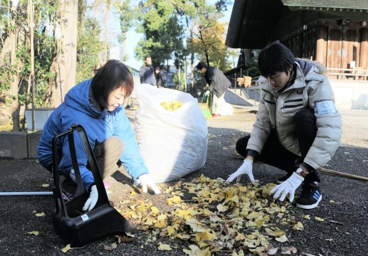 所沢、本庄ボランティア清掃