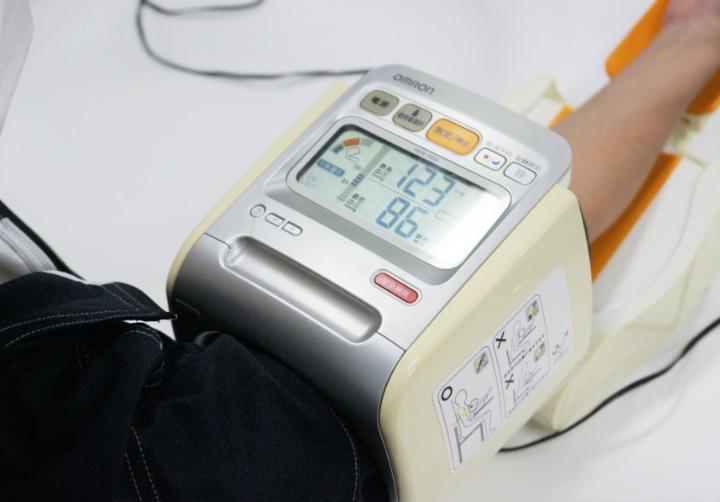 血圧・心拍数の計測